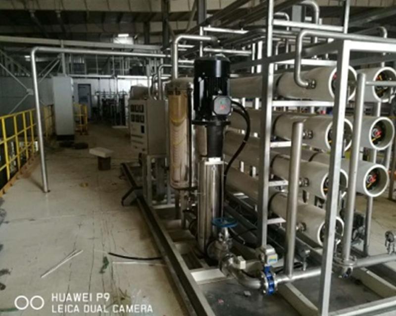 北京某汽车厂纯化水项目