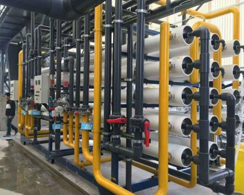 河北某电厂纯化水设备