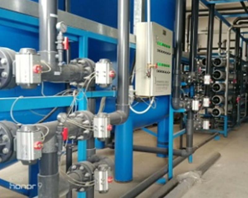 某化工厂大型反渗透纯水机组